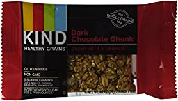 Kind Healthy Grains Granola Bars Dark Chocolate Chunk -- 3 Boxes 6.2 oz