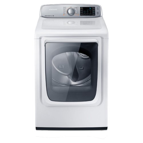 Samsung Dv50F9A6Evw Electric Front Load Dryer With Steam Dry, 7.4 Cubic Feet, Neat White