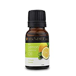 Soulflower Essential Oil Lemon 15 ml