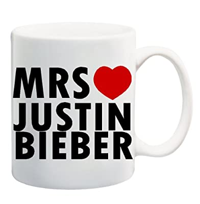 MRS JUSTIN BIEBER Mug Cup - 11 ounces