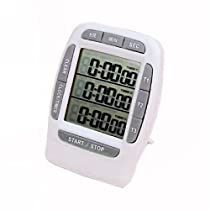 EK Portable Stopwatch Interval Timer Make Any Workout Easier to Plan and Execute with More Accuracy and Consistency