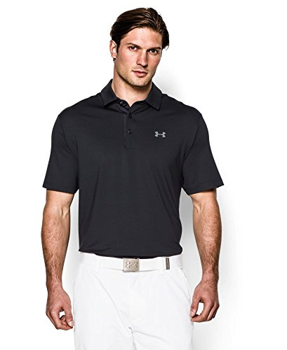 Under Armour Men's Playoff Polo, Black (001), X-Large