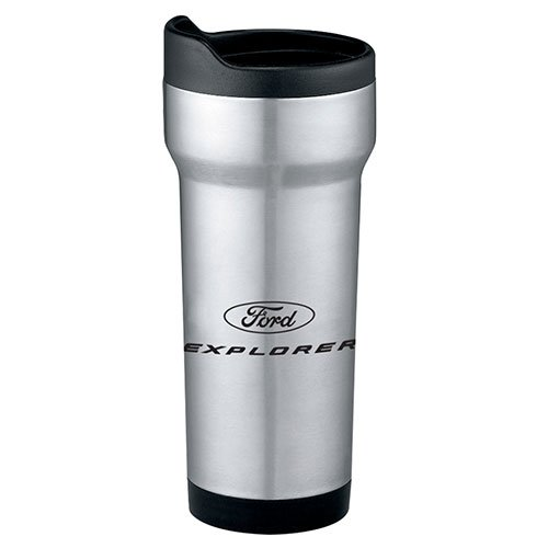 Genuine Ford Explorer Stainless Steel Tumbler Travel Coffee Mug