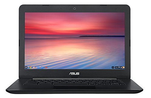 ASUS Chromebook 13-tums HD med Gigabit WiFi, 32GB Lagring & 4GB RAM (Svart)