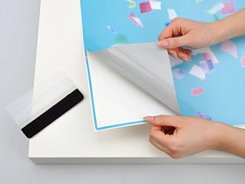 m bel folie sticker f r ikea malm schreibtisch tischplatte dekoraufkleber design m belfolie. Black Bedroom Furniture Sets. Home Design Ideas