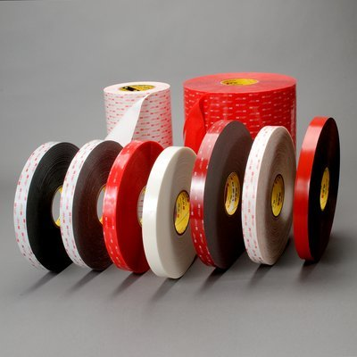 3M (4949-3/4x36yd) Tape 4949 Black Small Pack, 3/4 in x 36 yd 45.0 mil [You are purchasing the Min order quantity which is 3 Rolls] 3m 4941 vhb double sided tape with 1 1mm thick gray 12 5mmx33m pack of 1