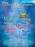 Hal Leonard Disney Contemporary Songs for Low Voice Book/CD