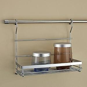 stainless steel kitchen shelf storage rack. Black Bedroom Furniture Sets. Home Design Ideas