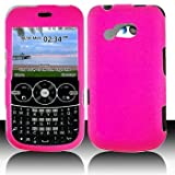 LG 900G for Stright Talk & Net 10 Accessory - Rubber Pink Hard Case Proctor ....