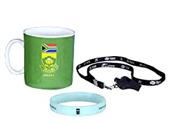 South Africa Cricket Team Cheering Souvenier Kit