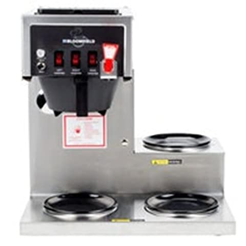 Bloomfield 8572D3F-120C Koffee King 3 Warmer Right Stepped Automatic Coffee Brew - Koffee King Coffee