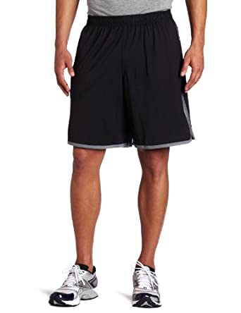 Champion Men's Intent Short, Black/Carbon, X-Large