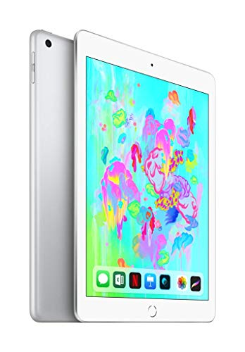 애플 아이패드 6세대 128GB Wifi 실버 Apple iPad (Wi-Fi, 128GB) - Silver (Latest Model)