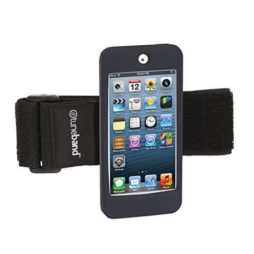TuneBand for iPod touch 5th Generation / 6th Generation, Premium Sports Armband with Two Straps and Two Screen Protectors (Fits Models A1421/A1509/A1574), BLACK (Ipod Model A1421 compare prices)