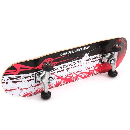 DOPPELGANGER (doppelganger) 31 inch skateboard DSB-7 ABEC5 bearings used.