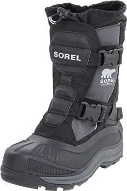 Sorel Men S Alpha Trac Buckle Snow Boot Black 11 5 M Us