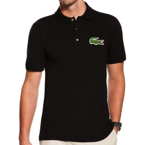 Lacoste Short Sleeve Oversized Crocodile Pique Polo