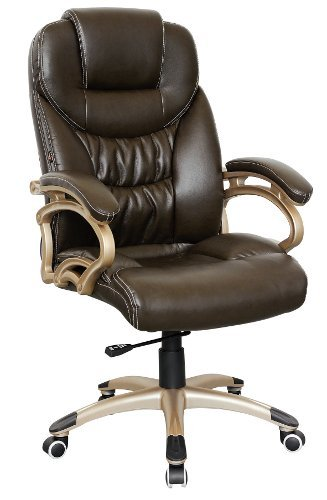 Executive Chair TRITON 300 PU brown / silver