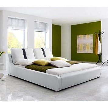 """Polsterbett """"Livorno"""" 180x200cm Weiß"""