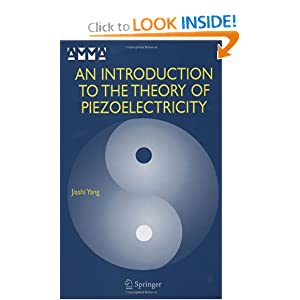 An introduction to the theory of piezoelectricity Jiashi Yang