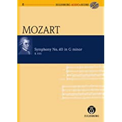 Symphony No. 40 in G Minor/ G-Moll K 550 (Eulenburg Audio+Score Series)