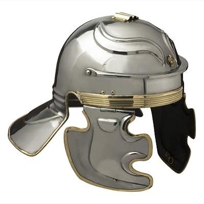 Armor Venue Imperial Gallic 'C' SISAK Roman Helmet - One Size - Metallic Armour