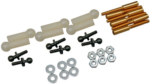 Great Planes Threaded 2-56 Ball Link Set (Set of 6)