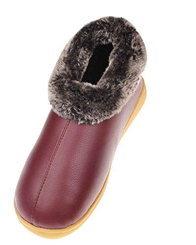 saideng-unisexo-zapatillas-de-casa-zapatillas-comodo-suela-termica-invierno-oscuro-rojo-26