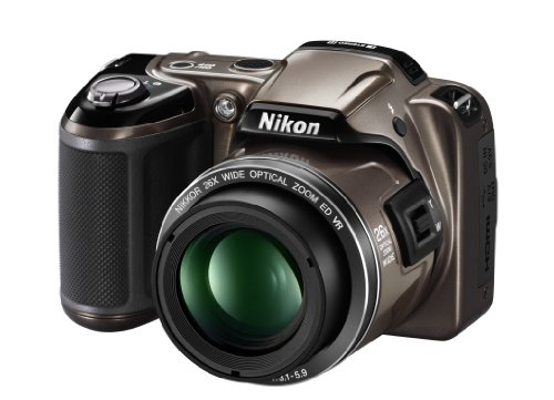 Nikon COOLPIX L810 Compact Digital Camera - Bronze (16.1MP, 26x Optical Zoom) 3 inch LCD