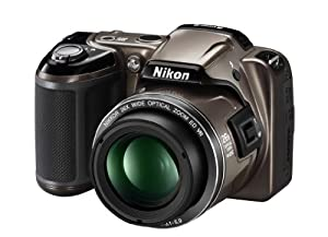 Nikon Coolpix L810 Digitalkamera (16 Megapixel, 26-fach opt. Zoom, 7,5 cm (3 Zoll) Display, bildstabilisiert) bronze