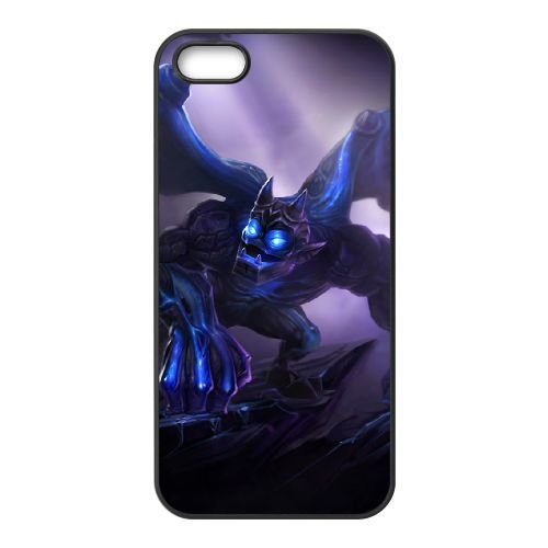 iPhone 5 5s Cell Phone Case Black League of Legends Enchanted Galio LM5609273