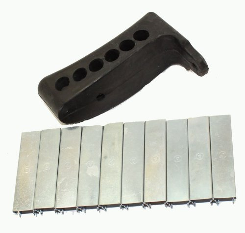 Fantastic Deal! 91/30 m44 Mosin Nagant Rubber Recoil Butt Pad with 10 Mosin Nagant Stripper clip