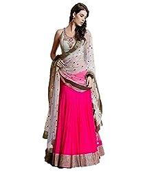Khatushyam Textile Ethnic Multi Color Indian Lahenga
