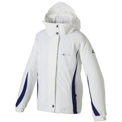 Dare 2b Spindle Girls Ski Jacket - Size: Age 5/6 - Height 117cm - Color: White/Rum