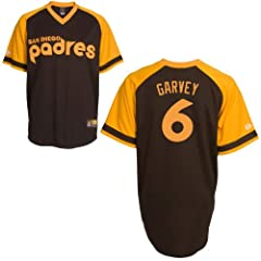 Steve Garvey San Diego Padres Replica Cooperstown Jersey by Majestic by Majestic
