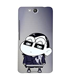 EPICCASE Ching Shang Mobile Back Case Cover For Micromax Canvas Juice 3 Q392 (Designer Case)