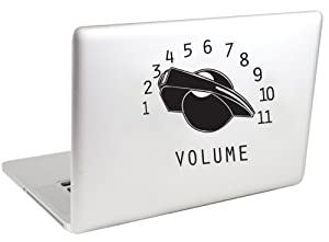 Volume Knob Vinyl MacBook Decal