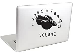 Volume Knob Vinyl MacBook Decal