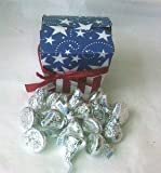 American treat box Hershey milk chocolate kisses