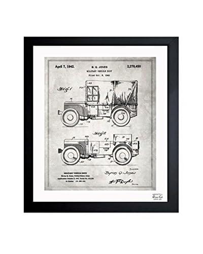 Oliver Gal Jeep Willys 1942 Framed Art
