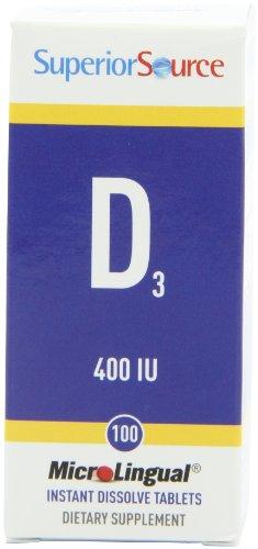 Superior Source Vitamin D 400 Iu, 100 Count