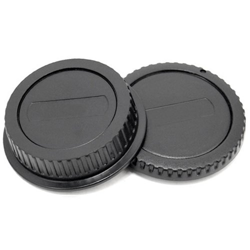 Rear Lens + Camera Body Cap Cover for Canon EOS & EF/EF-S Lens