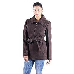 Owncraft Women's Brown wool coat 5