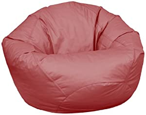 American Furniture Alliance Fun Factory Classic Bean Bag, Large, Burgundy by American Furniture Alliance