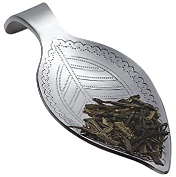 Leaf-Shaped Loose Tea Scoop
