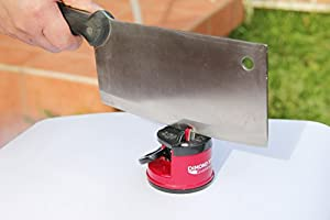 Best Knife Sharpener - #1 Choice of Master Chefs - Sharpens A Variety of Kitchen and... by SunrisePro