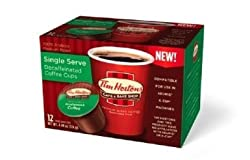 Tim Horton's Decaf Coffee 24 K Cups (single Serve) made by TIM HORTONS