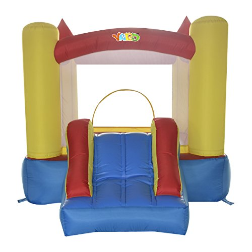 YARD Nylon Inflatable Bouncy Castle Resdential Jumping House for Kids 9.5x6.9x6.9ft with Blower