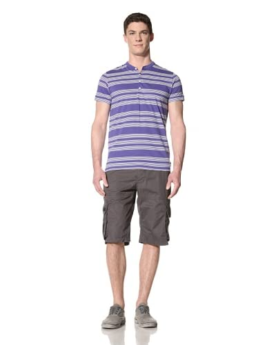 French Connection Men's Seaspray Stripe Henley