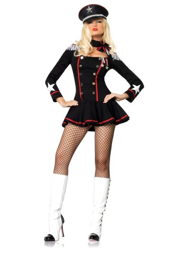 Leg Avenue Women's Major Mayhem Military Costume